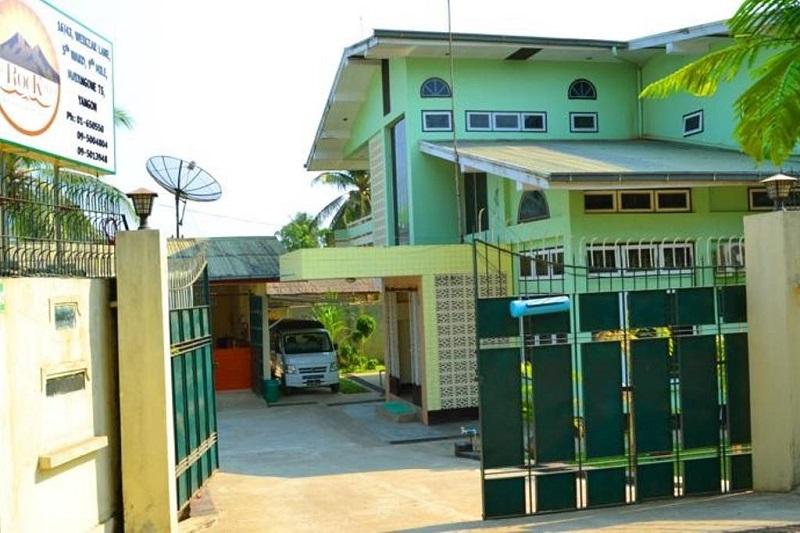 maison colorée yangon