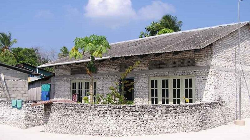 La Maison De Corail Traditionnelle Des Maldives