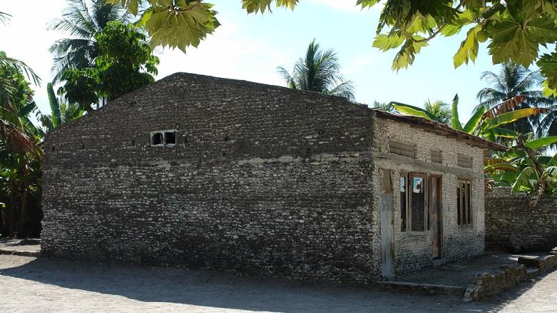La maison de corail traditionnelle des maldives - La maison du corail ...