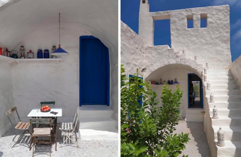 Maison d 39 inspiration grecque au liban for Maison prefabriquee liban