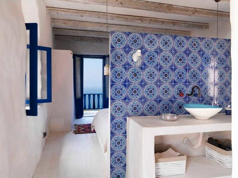 Maison d 39 inspiration grecque au liban for Architecture maison traditionnelle libanaise