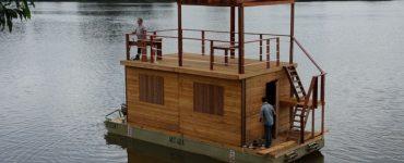maison flottante congo
