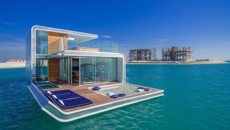 maison flottante dubai