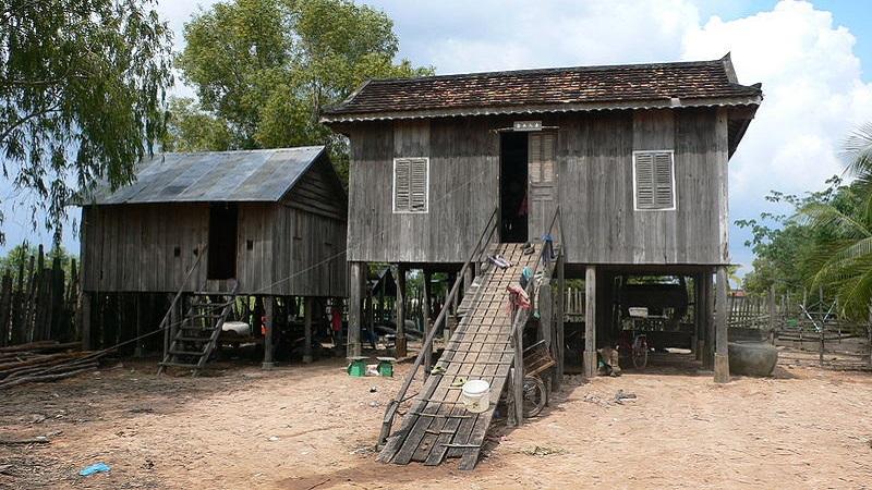 maison khmer rurale moderne