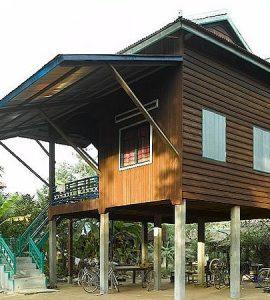 maison khmer ruale moderne