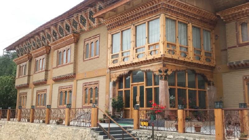 La maison thimzim au bhoutan for Annuler offre achat maison