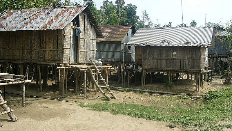 maison traditionnelle khasi