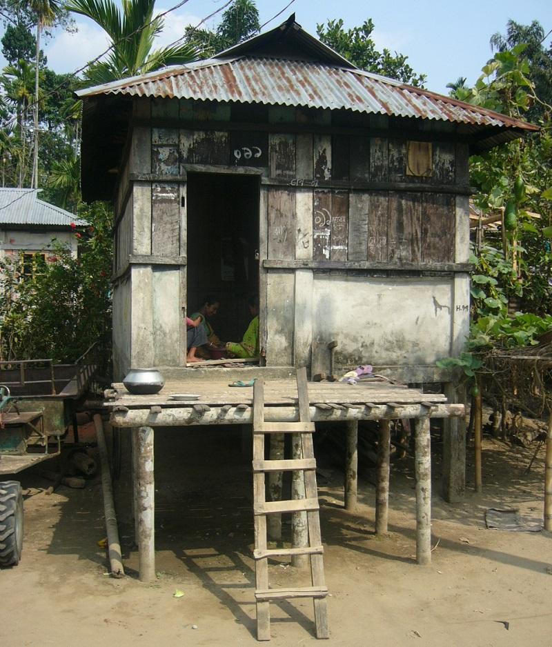 maisons traditionnelles khasi