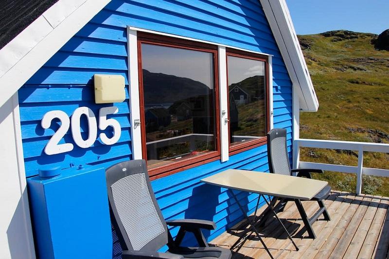 maison typique groenland