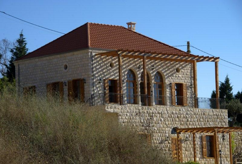 les maisons traditionnelles libanaises
