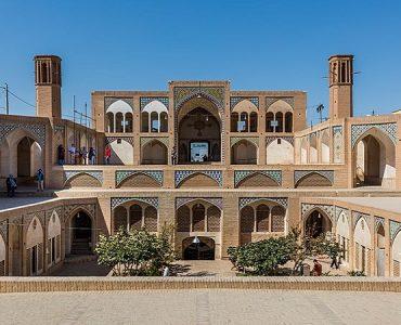 maisons traditionnelles iraniennes kashan