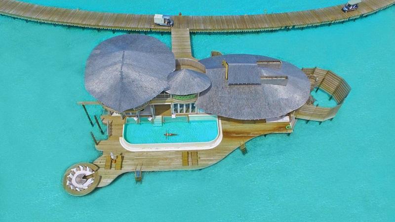 Villa De Luxe Plan : Des villas de rêve aux maldives