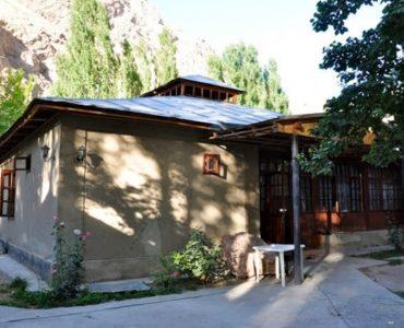 Maison traditionnelle au Tadjikistan