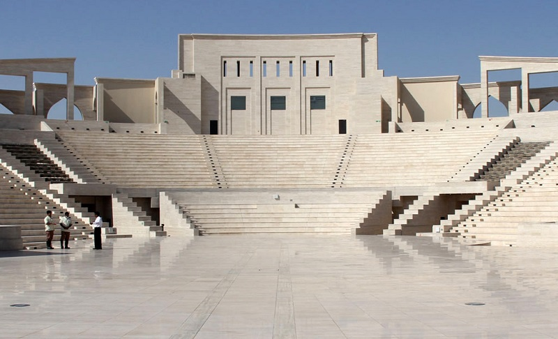 batiments traditionnels qatar