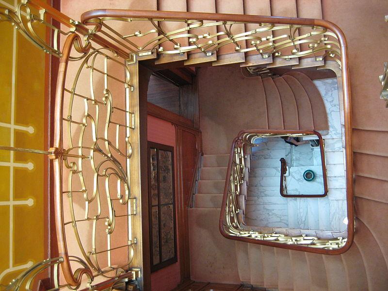 escalier maison horta