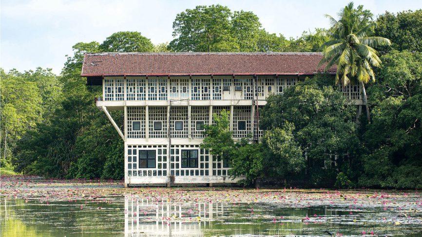 maison architecte bawa