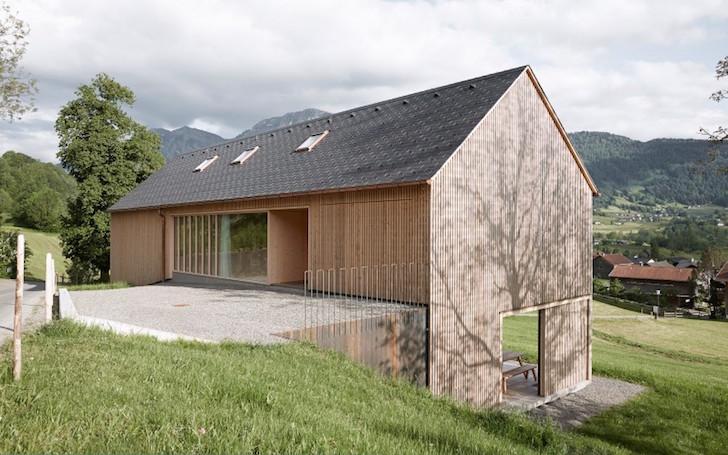 maison autriche façade epicea