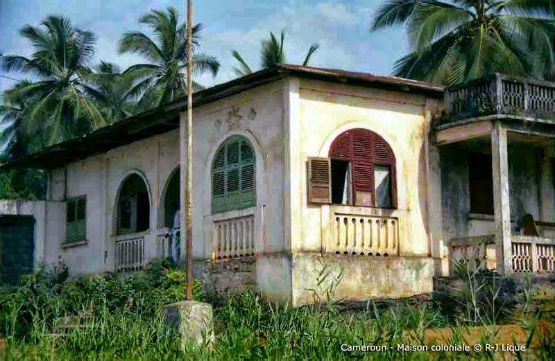 L 39 architecture coloniale au cameroun for Chambre de commerce du cameroun
