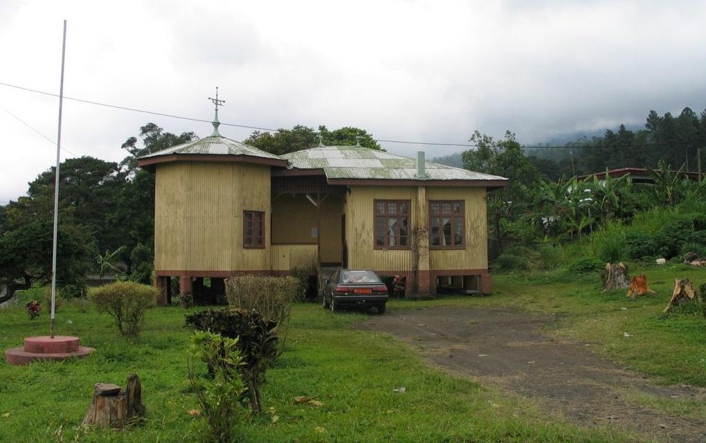 L 39 architecture coloniale au cameroun for Plan maison coloniale