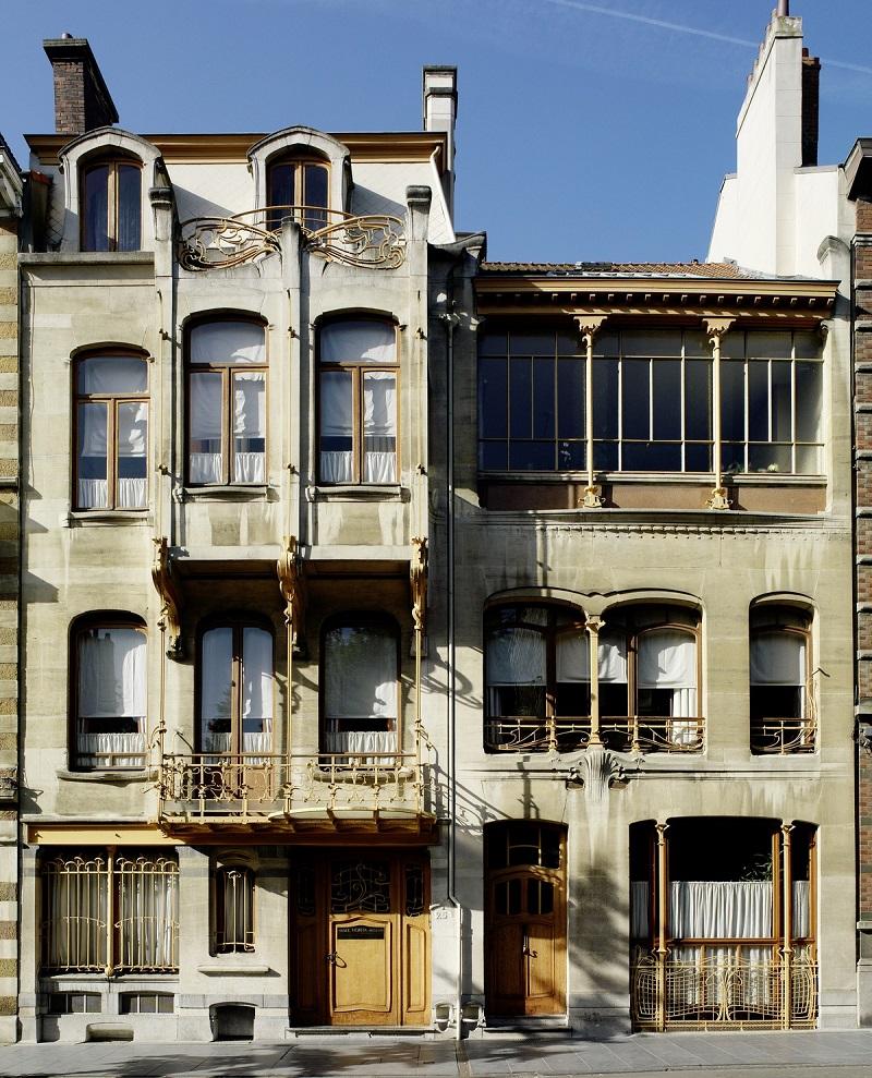 Maison horta difice art nouveau en belgique for Maison minimaliste belgique