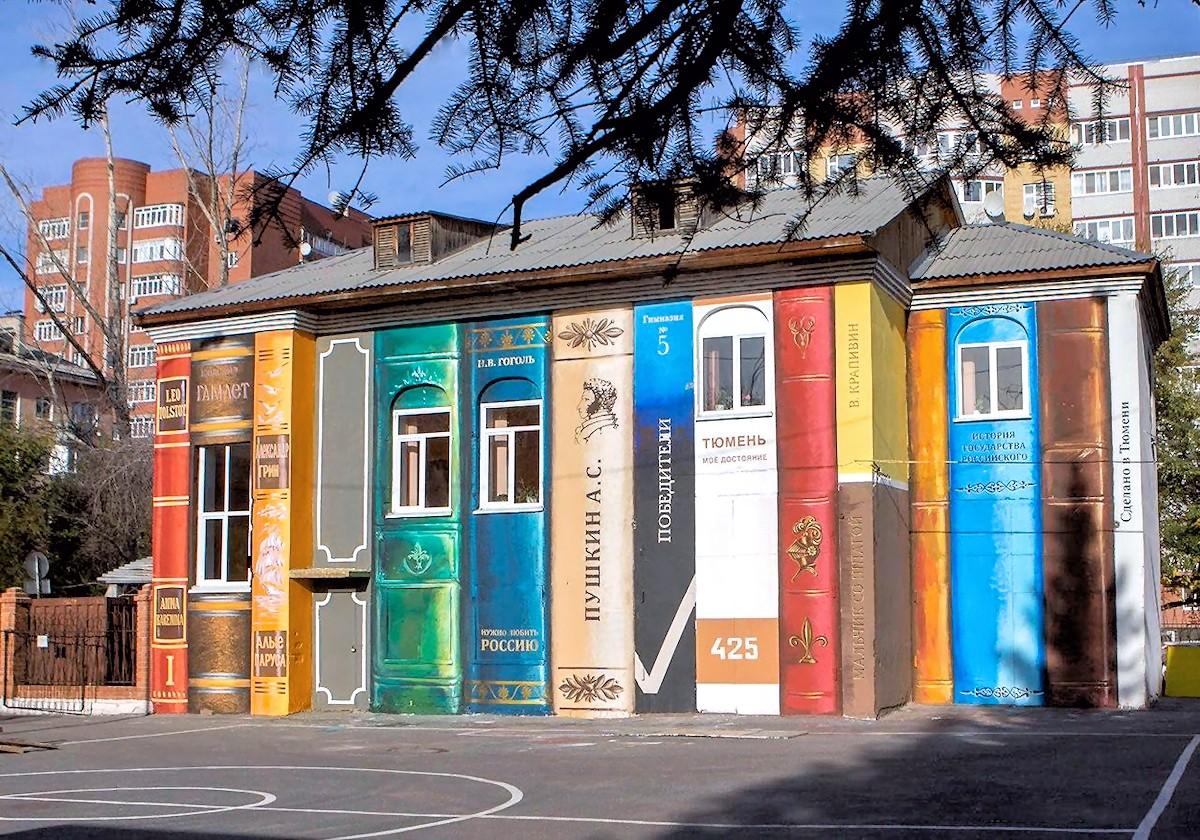 maison livre russie
