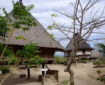maison traditionnelle du timor oriental