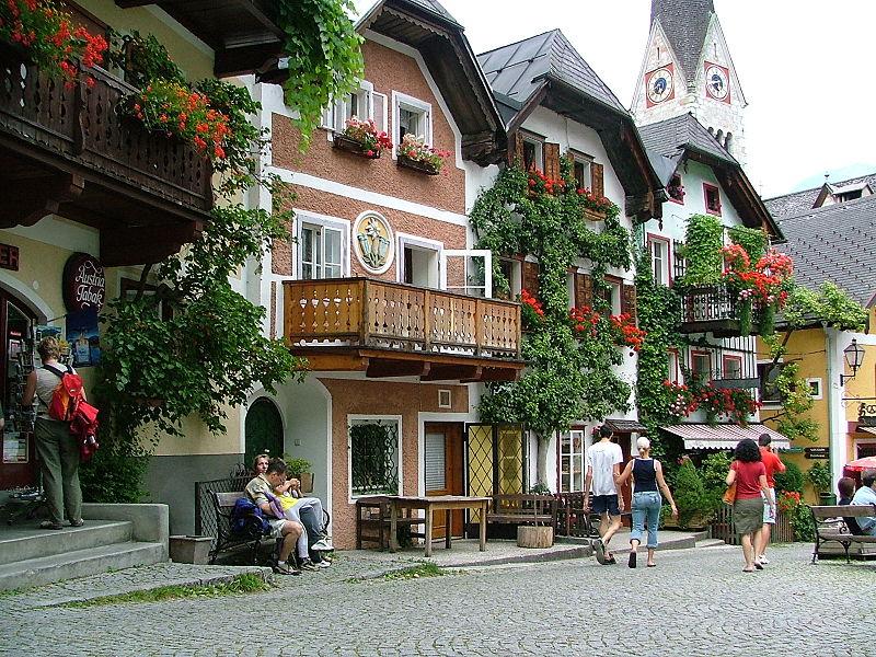 maisons Hallstatt