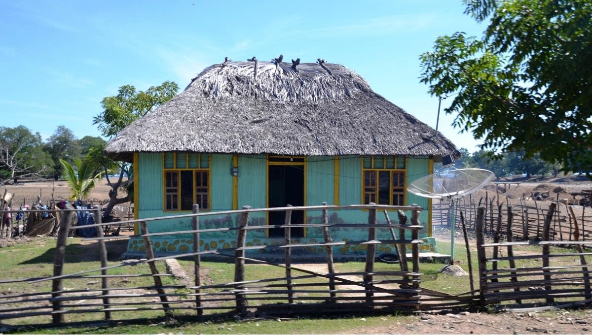 maisons colorées timor oriental