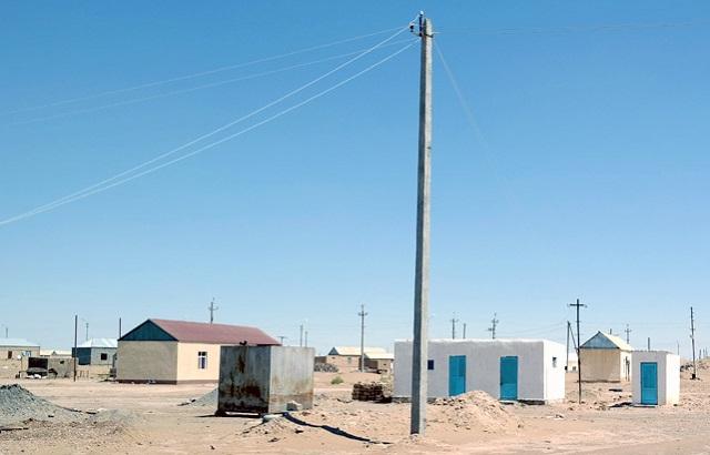 maisons rurales turkmènes