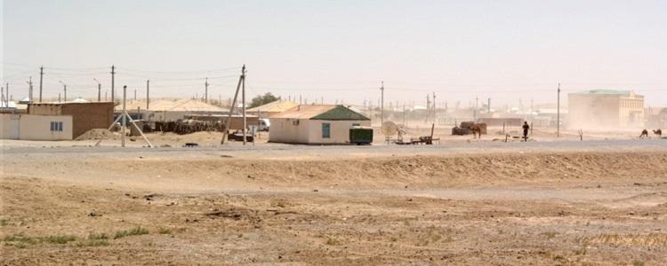 maisons rurales turkmenistan