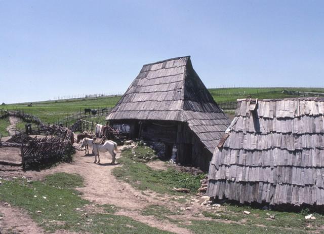 maisons traditionnelles de Kramari