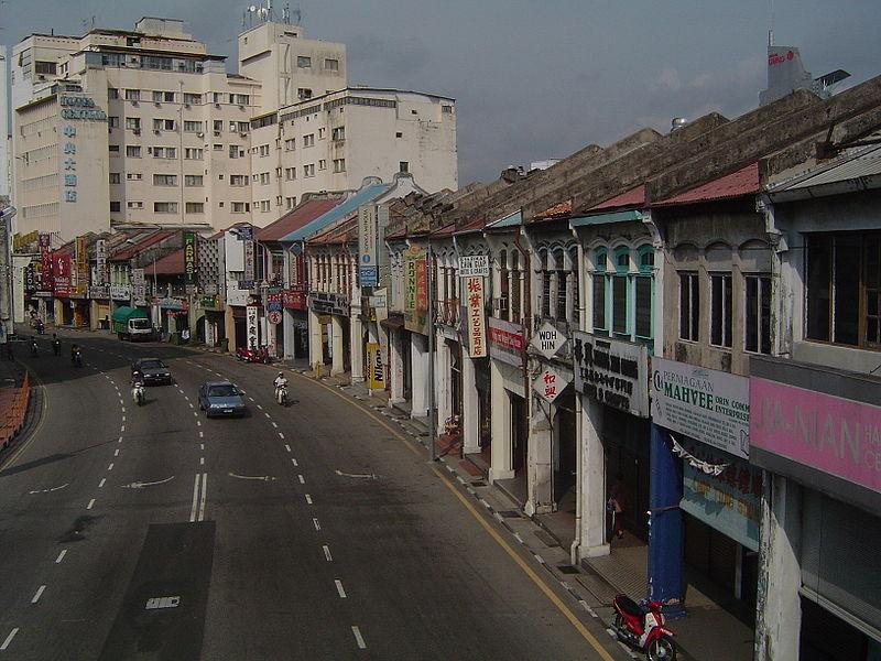 shophouses penang
