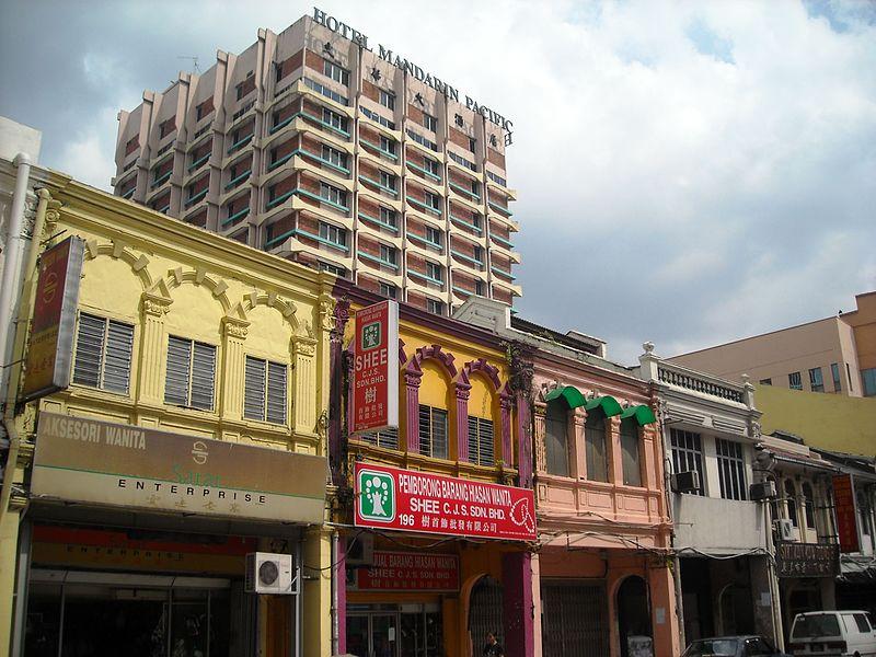 shophouses malaisie