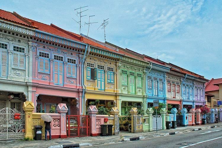 structure coloré singapour