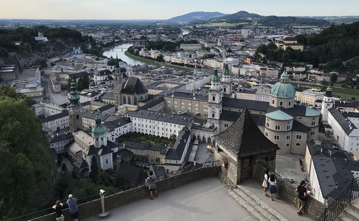 vieille ville Salzbourg