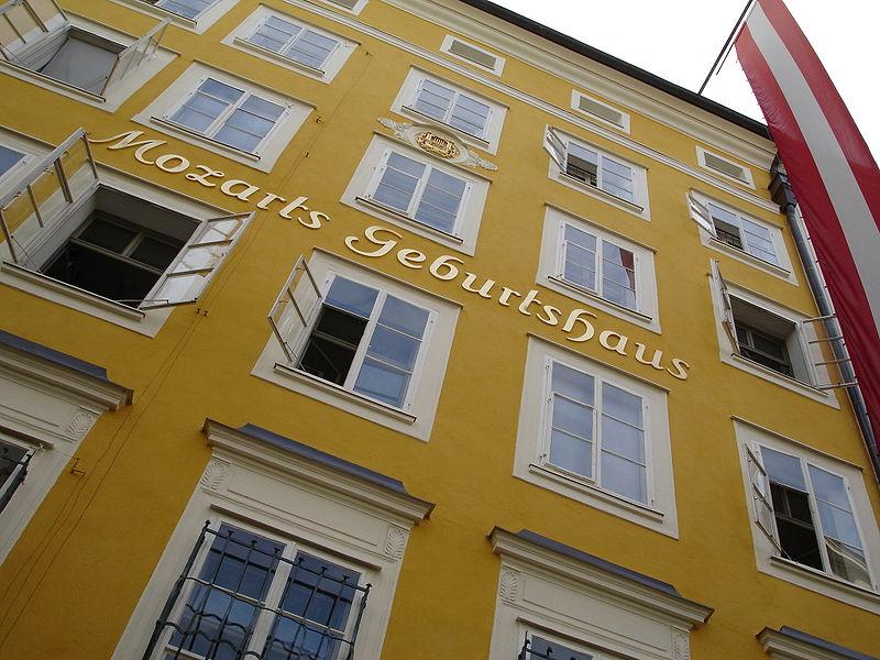 immeuble mozart Salzbourg