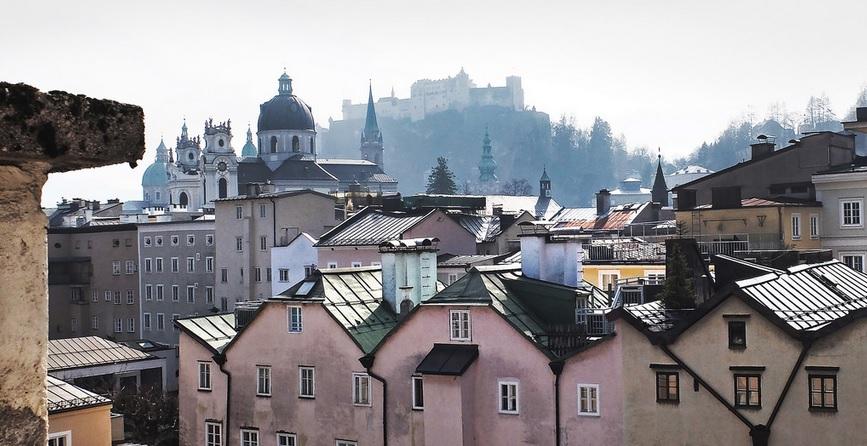 vieille ville de Salzbourg