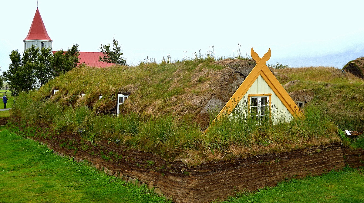 La Ferme Historique De Glaumb 230 R En Islande