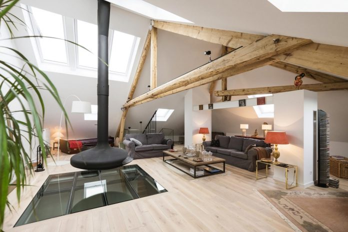 Rénovation intérieure manoir luxembourg