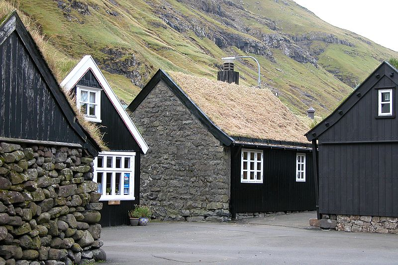 Tjørnuvík maisons