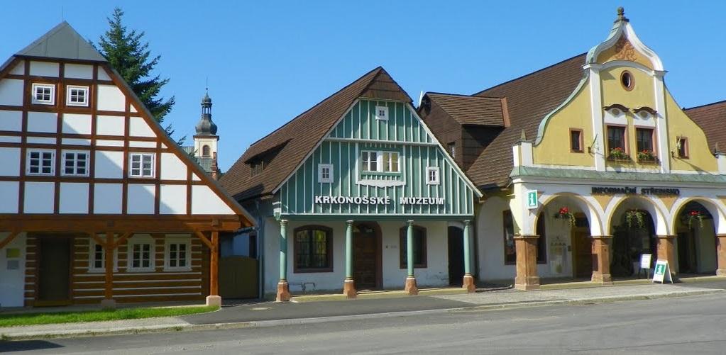 Trois maisons historiques Vrchlabí