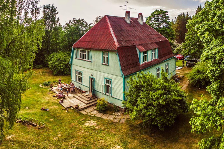 ancienne maison rurale estonie