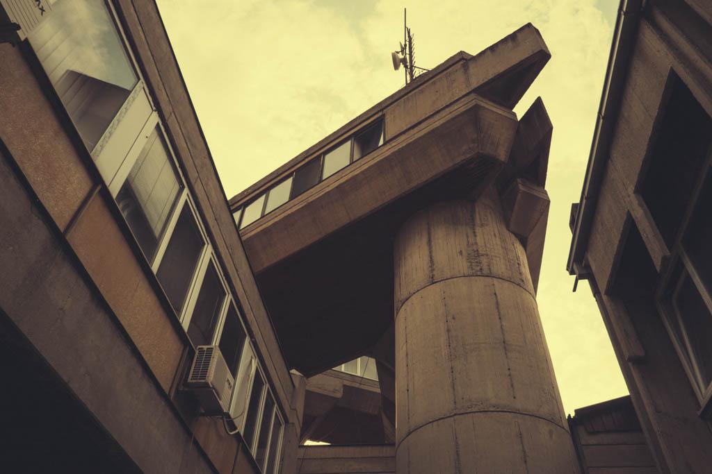 architecture brutaliste skopje