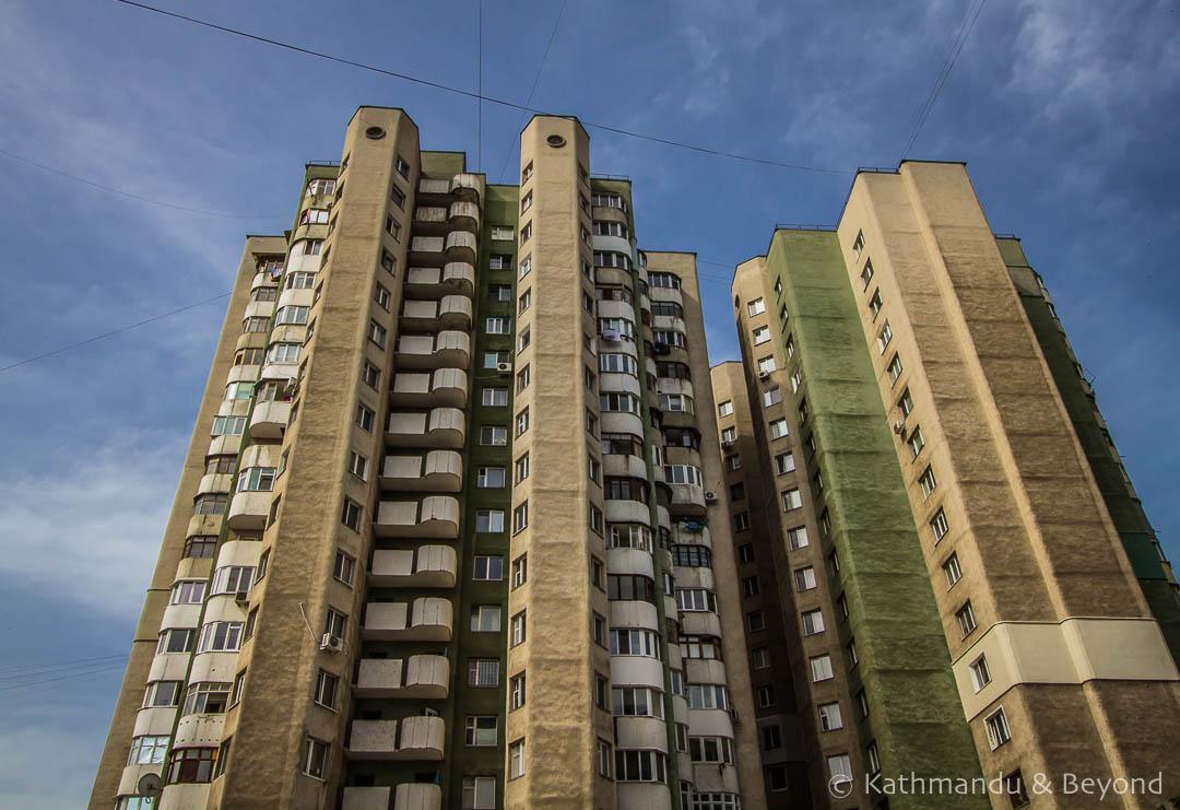 immeuble communiste Chișinau