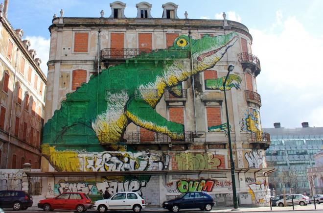 art de rue lisbonne