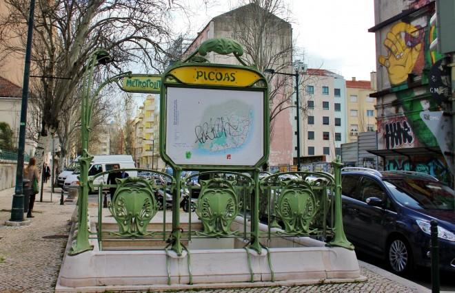 station picoas lisbonne