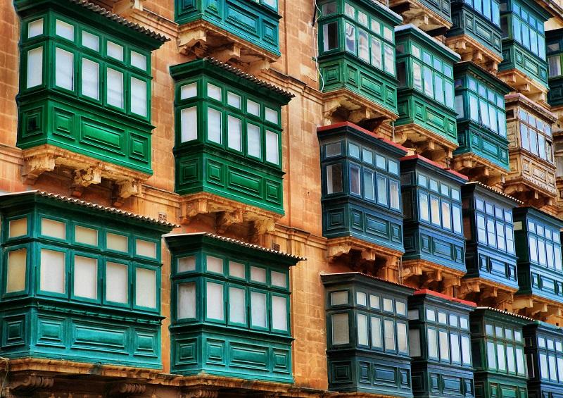 balcons à malte
