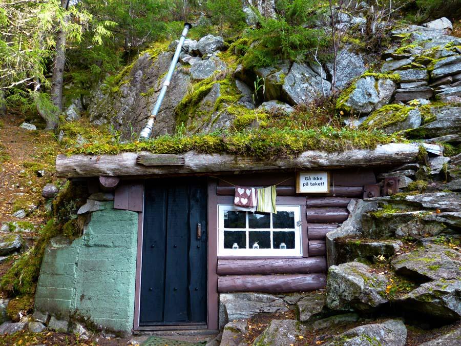 cabane charmante norvège