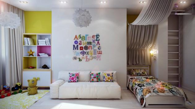 chambre enfant adorable