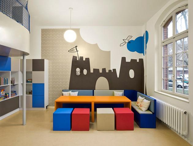 15 conceptions de chambre d 39 enfant color e - Chambre enfant coloree ...